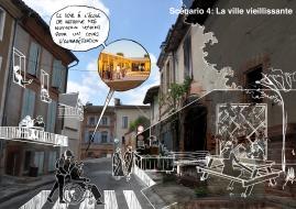 Scénario du futur - la ville vieillissante
